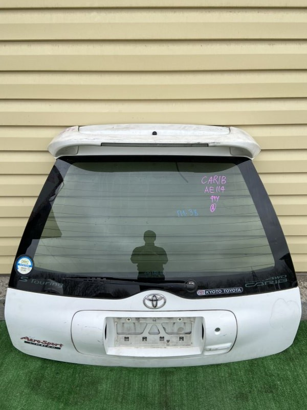 Дверь 5-я Toyota Sprinter Carib AE111 1999