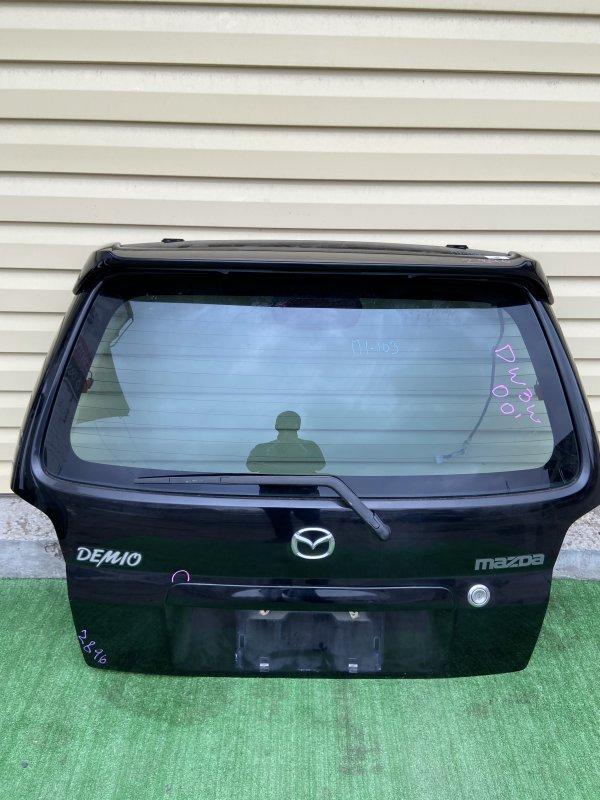 Дверь 5-я Mazda Demio DW3W 2000