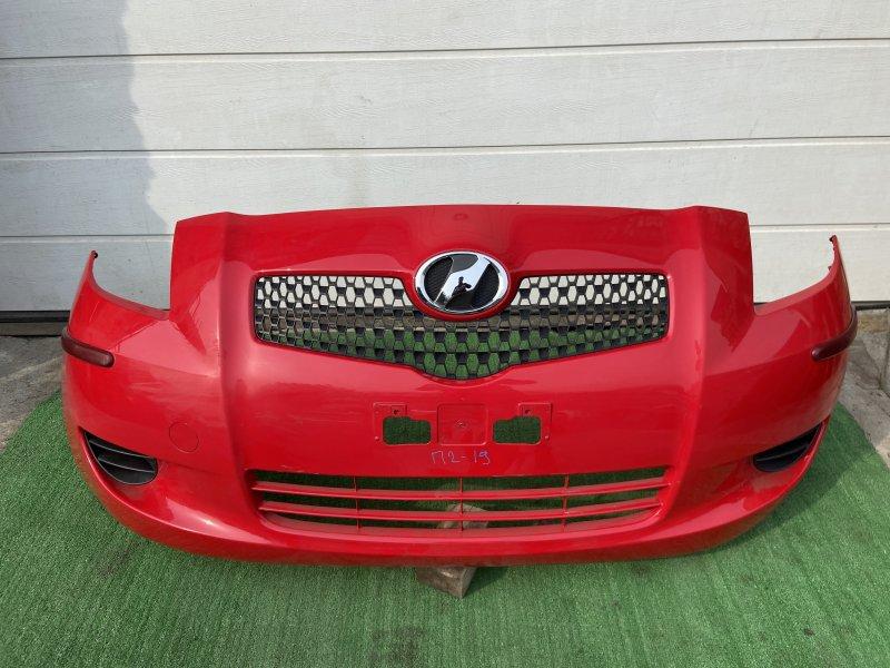 Бампер Toyota Vitz KSP90 2006 передний