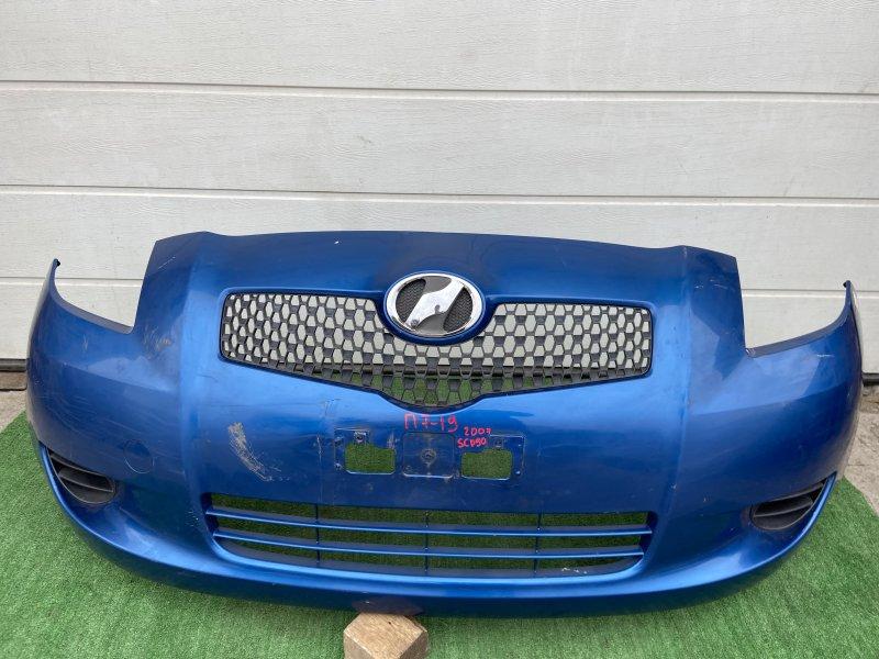 Бампер Toyota Vitz KSP90 2007 передний