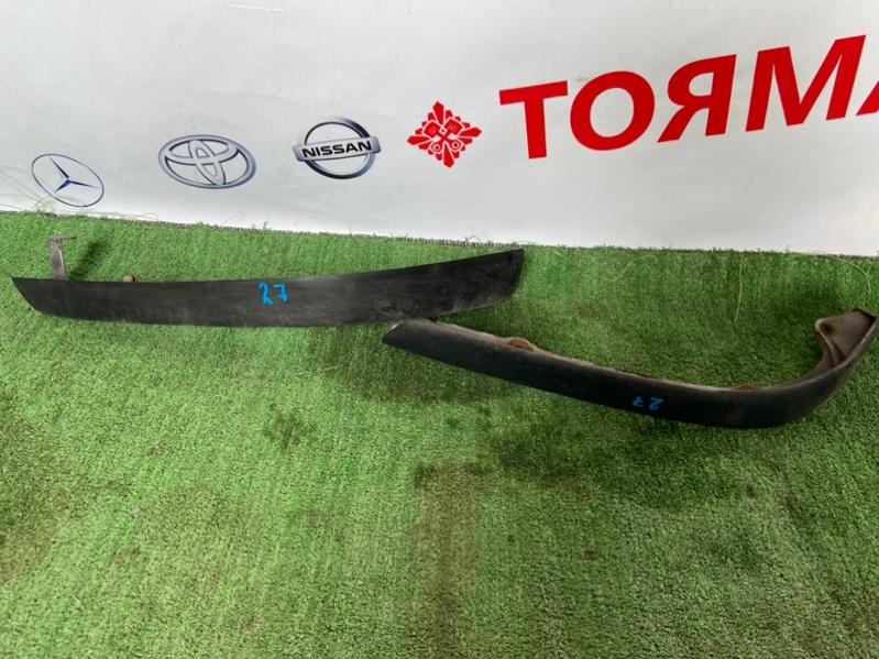 Накладка на бампер Toyota Funcargo NCP20 передняя