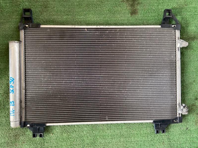 Радиатор кондиционера Toyota Belta SCP100 1KR