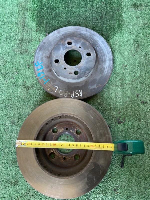 Тормозной диск Toyota Belta KSP90 1KR передний