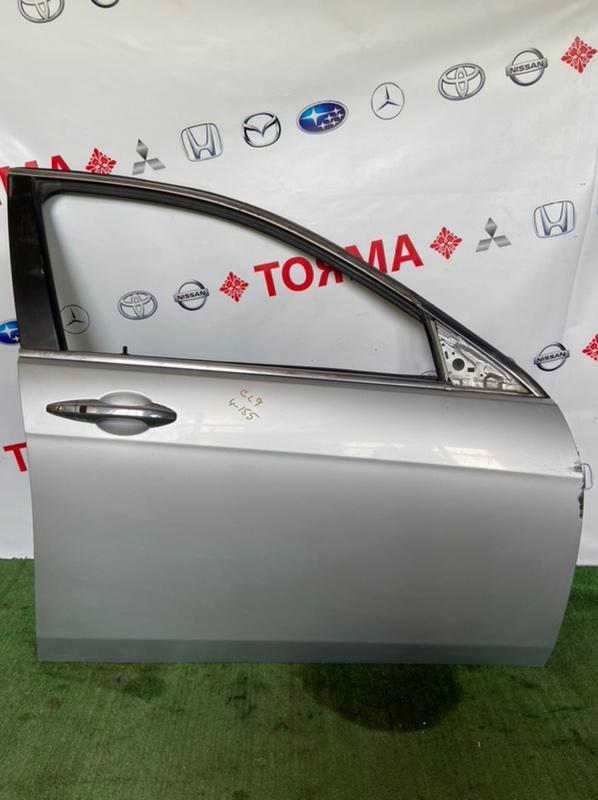 Стекло двери Honda Accord CL7 переднее правое