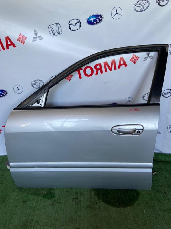 Дверь Mazda Capella GF8P FP 1999 передняя левая