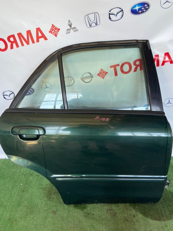 Дверь Mazda Familia BJ3P ZL 1999 задняя правая