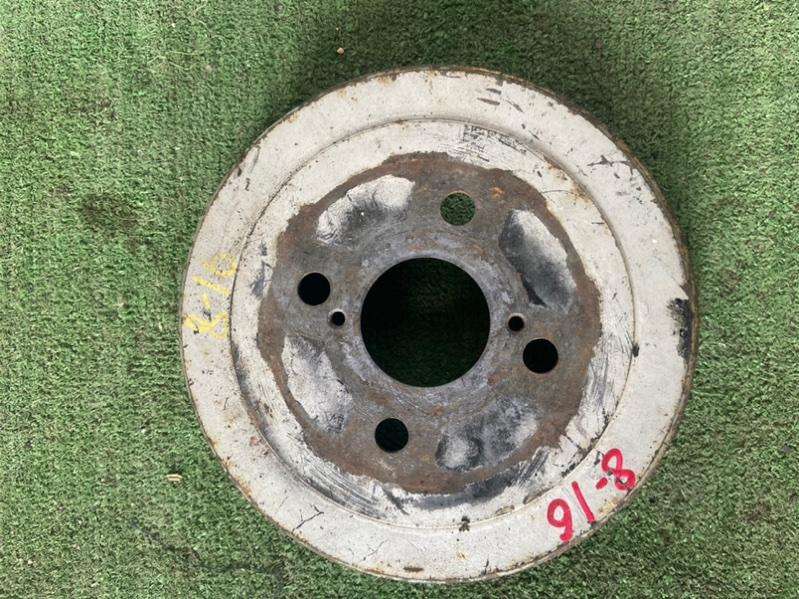 Тормозной барабан Toyota Allex CE121G 1ZZ 2002 задний