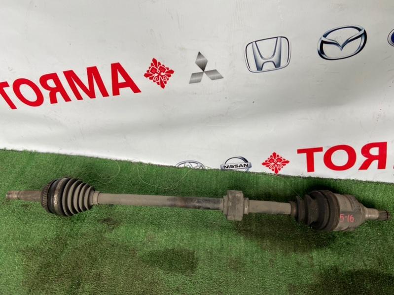 Привод Toyota Allex ZNE10G 1ZZ передний правый