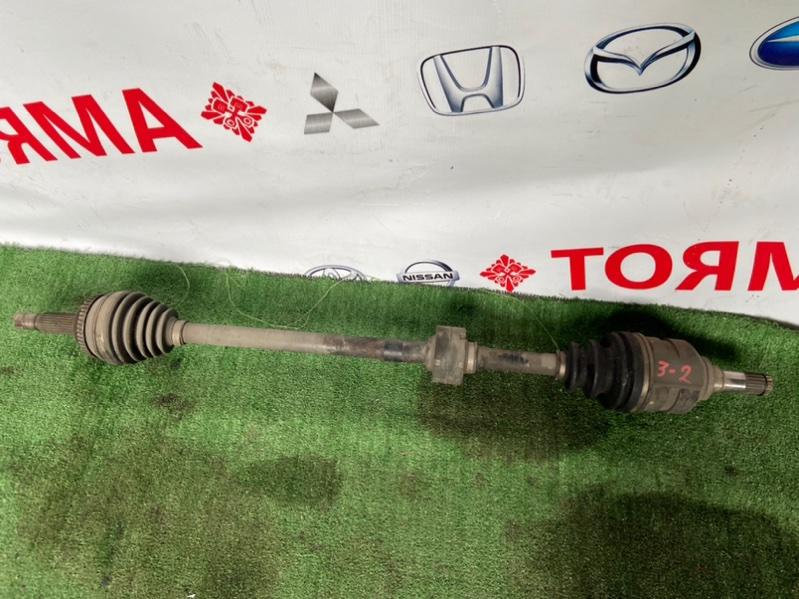 Привод Toyota Allex ZNE10G 1ZZ 2001 передний правый