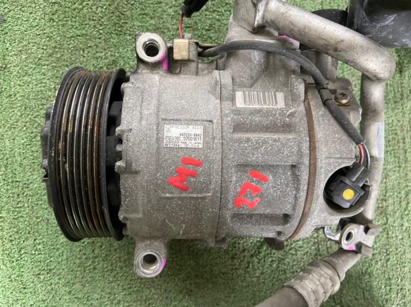 Компрессор кондиционера Mercedes Clk-Class W203 M271