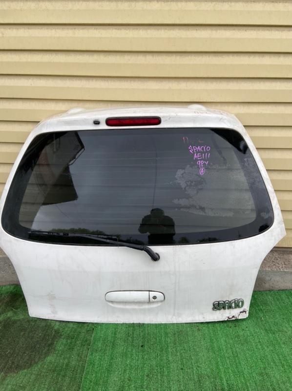 Дверь 5-я Toyota Spacio AE111