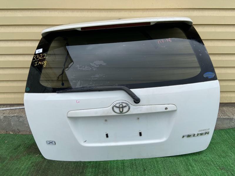 Дверь 5-я Toyota Corolla Fielder CE121