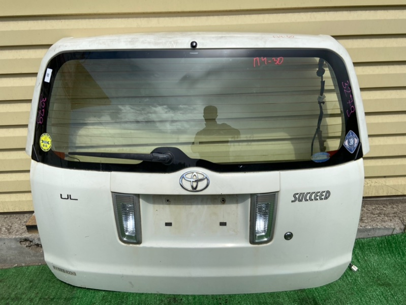 Дверь 5-я Toyota Succeed NCP50V