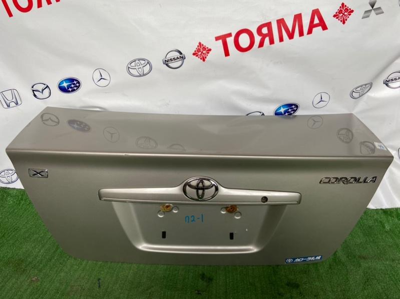 Крышка багажника Toyota Corolla CE121 1NZ 2001