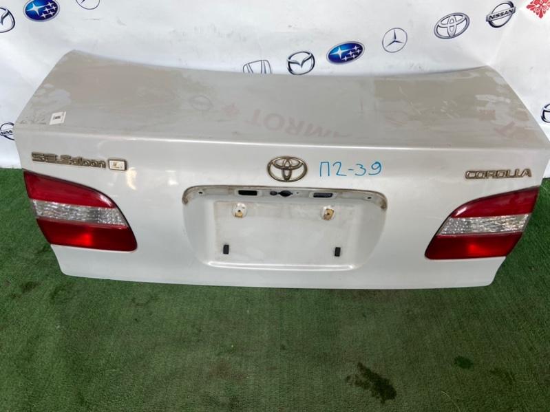 Крышка багажника Toyota Corolla AE110 4A 1999