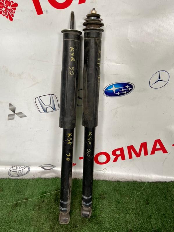 Амортизатор Toyota Vitz KSP90 1KR 2006 задний левый
