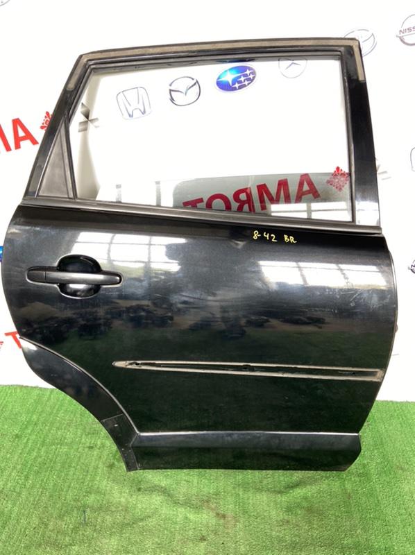 Дверь Toyota Voltz ZZE123 2ZZ 2002 задняя правая