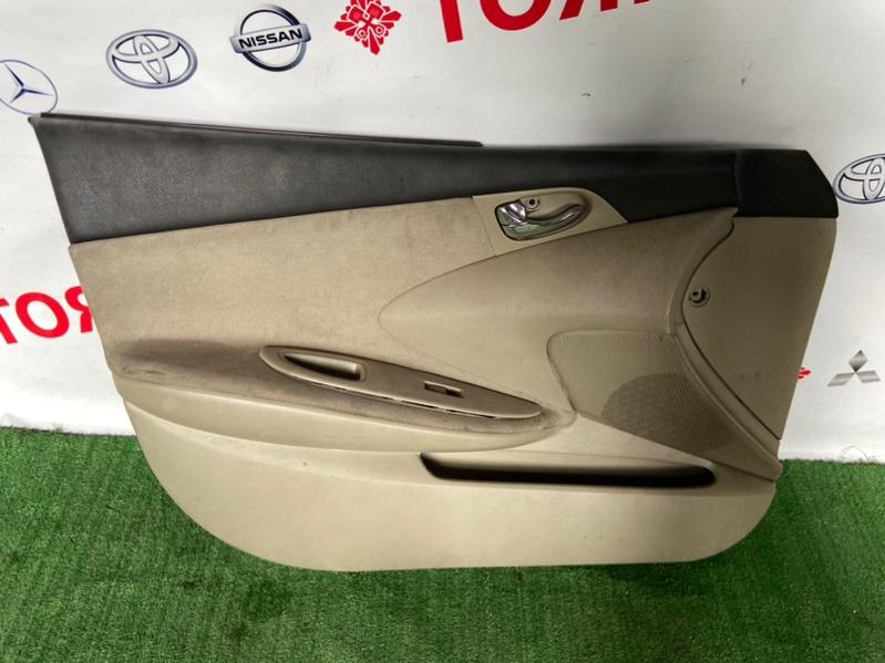 Обшивка дверей Nissan Primera HP12 QR20 2001 передняя левая