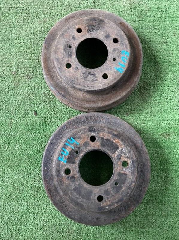 Тормозной барабан Nissan Bluebird FB15 SR18 Серебро задний