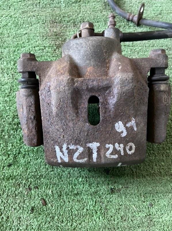 Суппорт Toyota Allex ACT10 1NZ передний левый