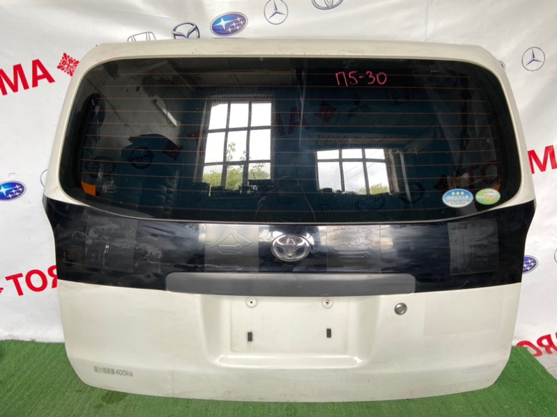 Дверь 5-я Toyota Probox NCP50V 2010