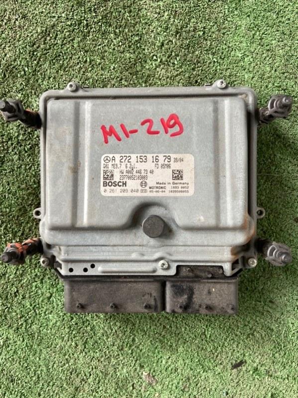 Блок управления efi Mercedes E-Class W164 M272