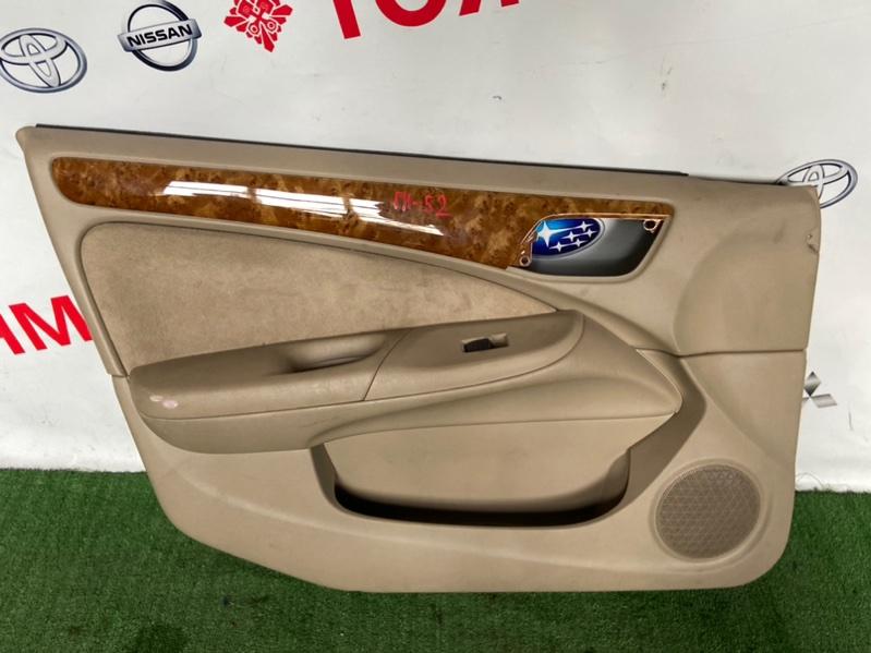 Обшивка дверей Nissan Bluebird Sylphy FG10 передняя левая