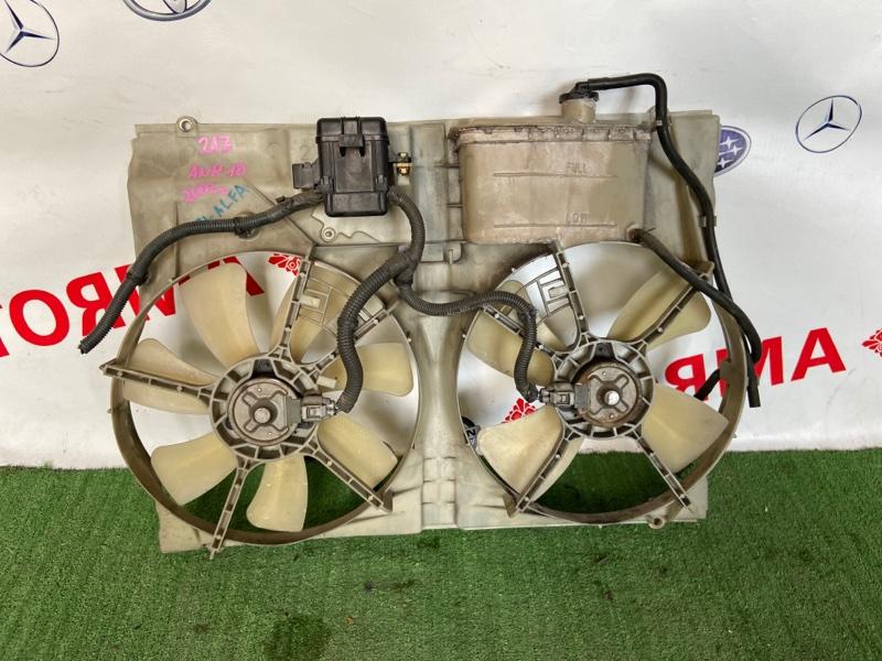 Диффузор радиатора Toyota Alphard ANH10W 2AZ-FE