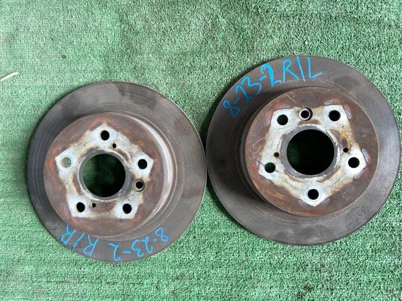 Тормозной диск Toyota Harrier ACU15 5S 1998 задний