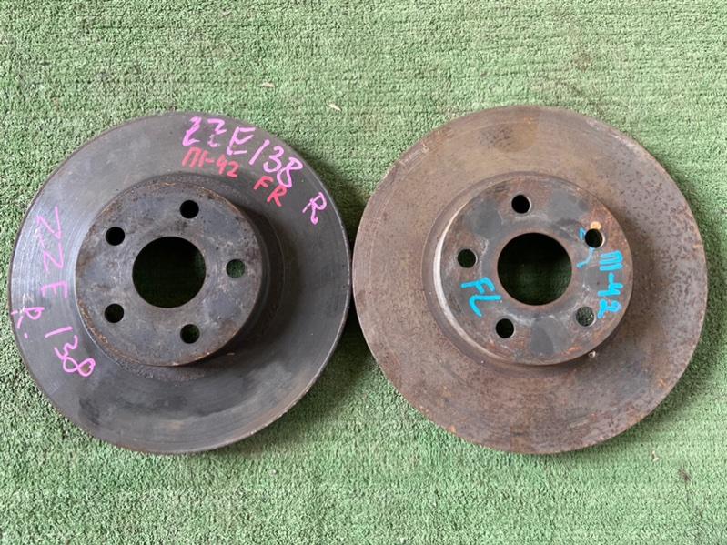 Тормозной диск Toyota Matrix ZZE130 передний