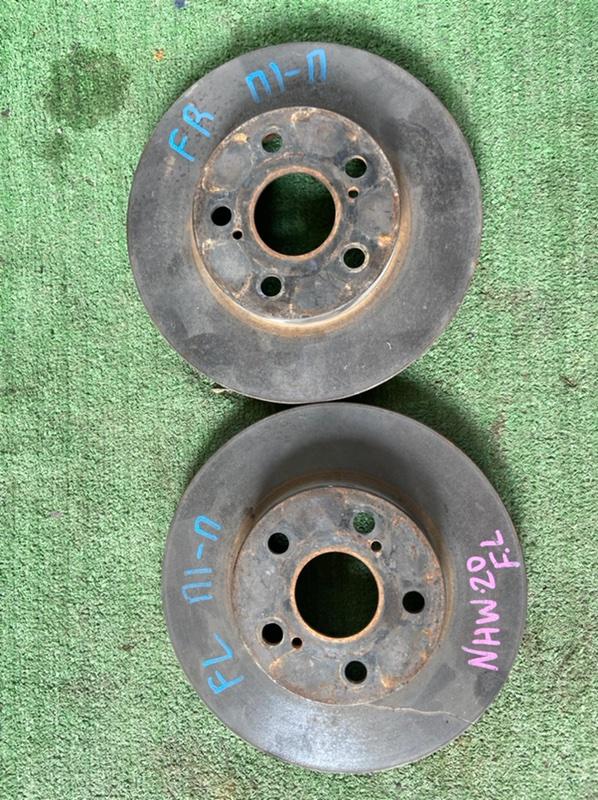 Тормозной диск Toyota Prius NHW20 1NZFXE передний