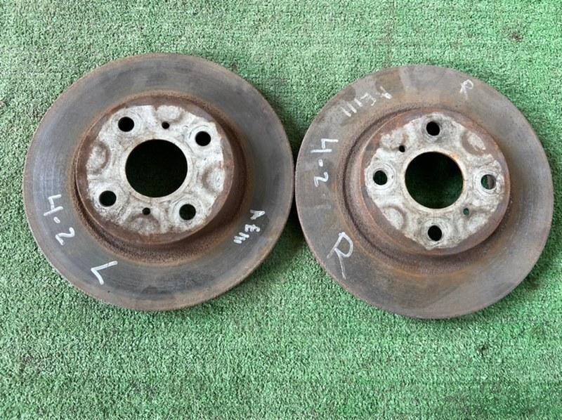 Тормозной диск Toyota Sprinter AE101 4A 1998 передний