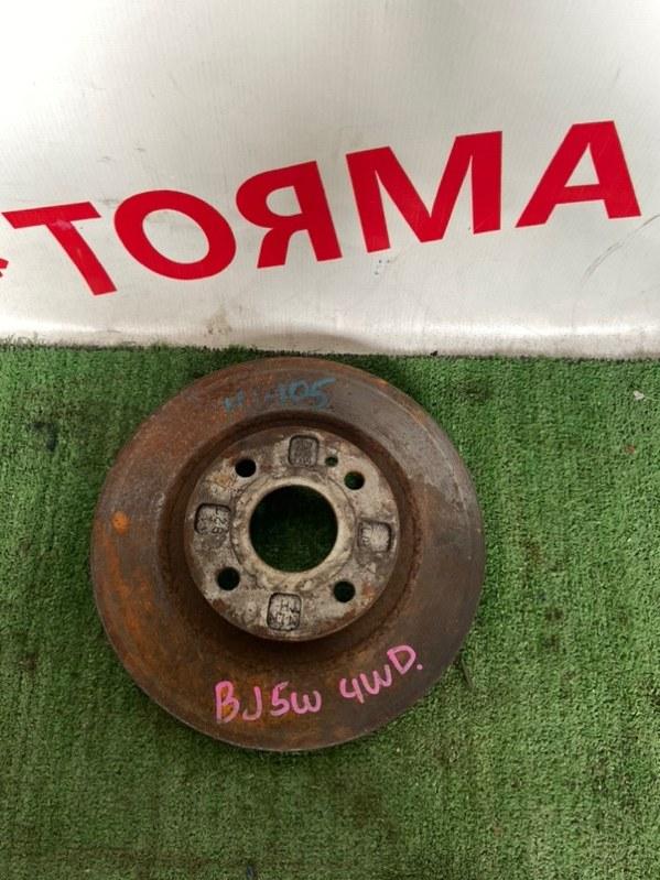 Тормозной диск Mazda Familia BJ передний