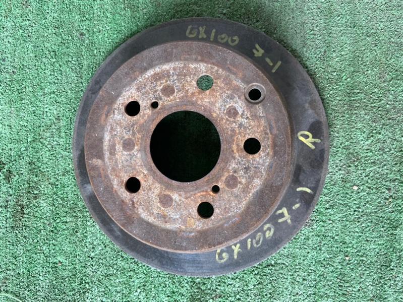 Тормозной диск Toyota Crown GS151 1G задний