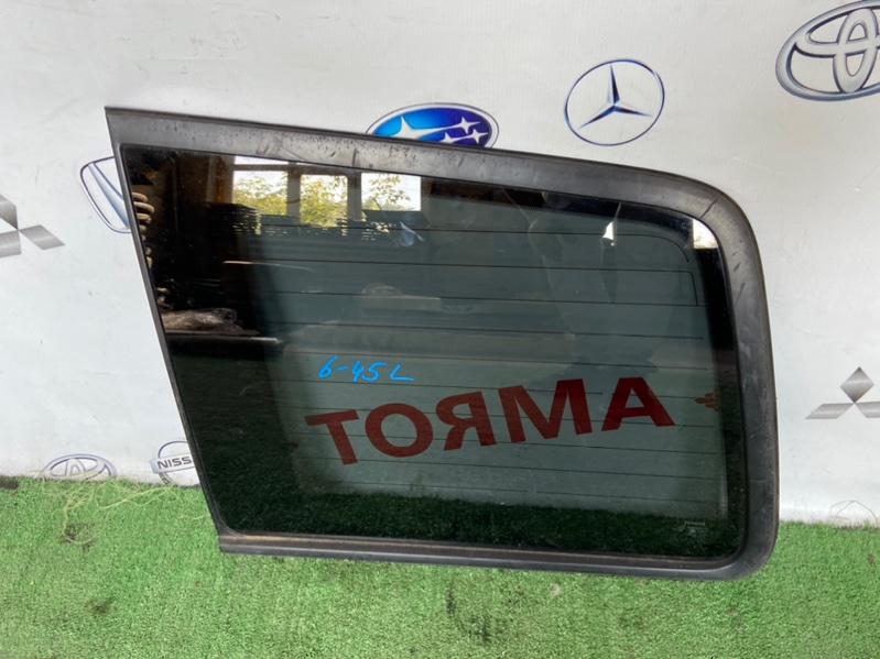 Стекло собачника Toyota Highlander ACU20 1MZ 2000 левое