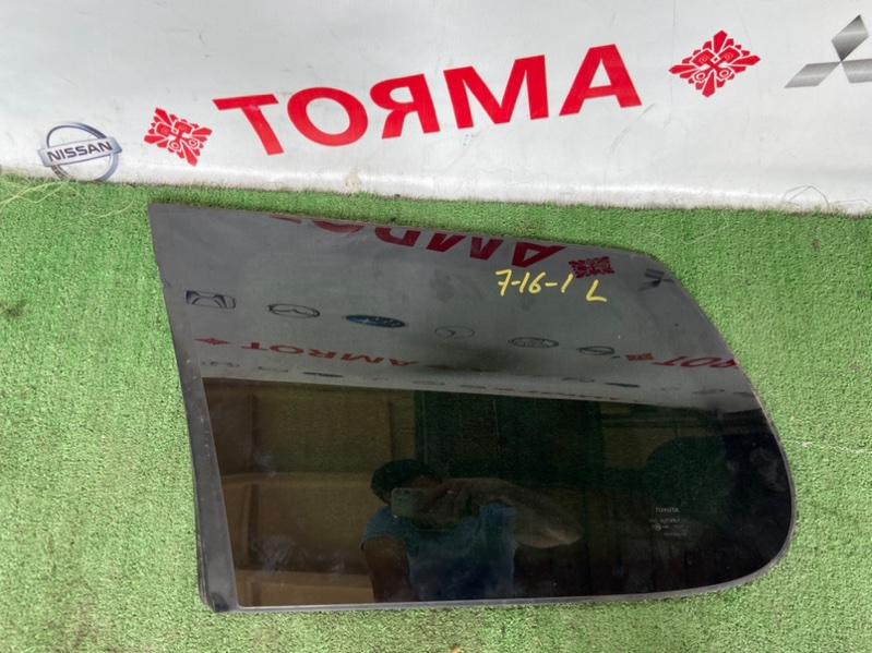 Стекло собачника Toyota Corolla Fielder NZE141G 1NZ 2006 левое