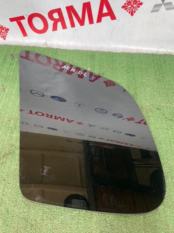Стекло собачника Toyota Spacio AE111N 4A левое