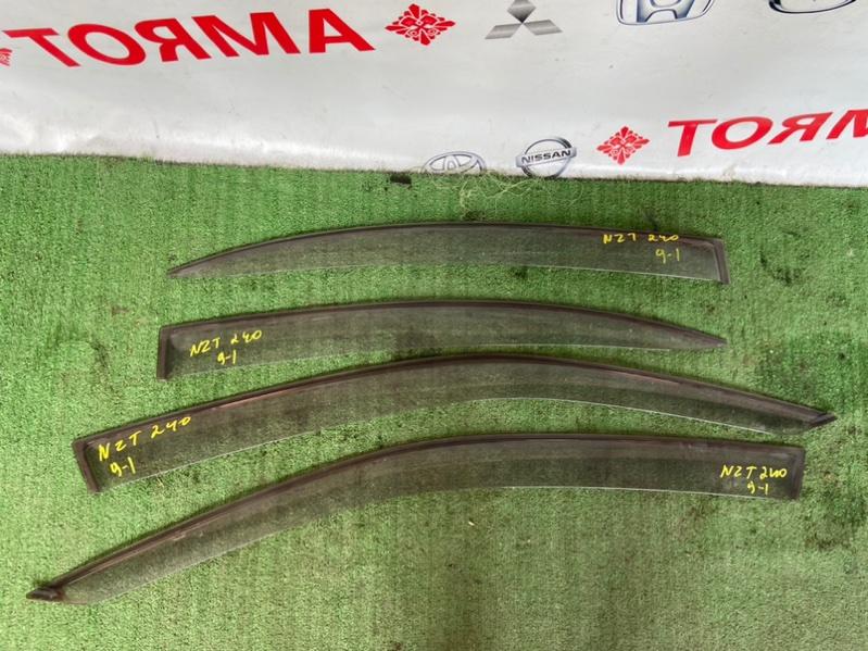Ветровики комплект Toyota Premio AZT240 1NZ