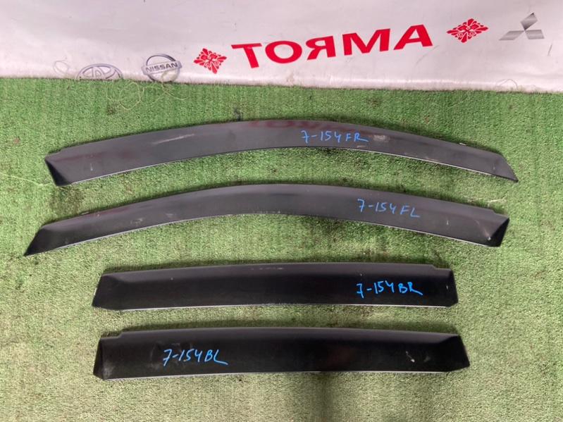 Ветровики комплект Honda Stream RN1 D17A