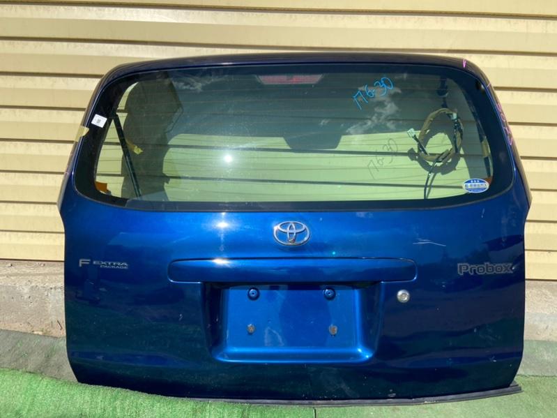 Дверь 5-я Toyota Probox NCP50V 2005