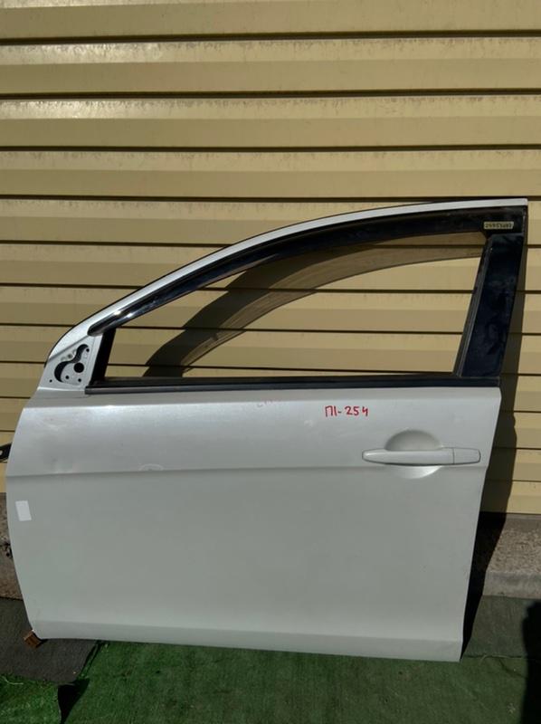 Дверь Mitsubishi Galant Fortis CX1A передняя левая