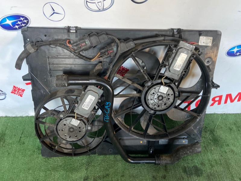 Диффузор радиатора Porsche Cayenne