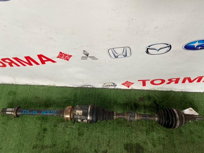 Привод Toyota Camry ACV30 2AZ передний правый