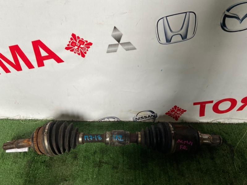 Привод Toyota Avensis ACM21 1AZ передний левый