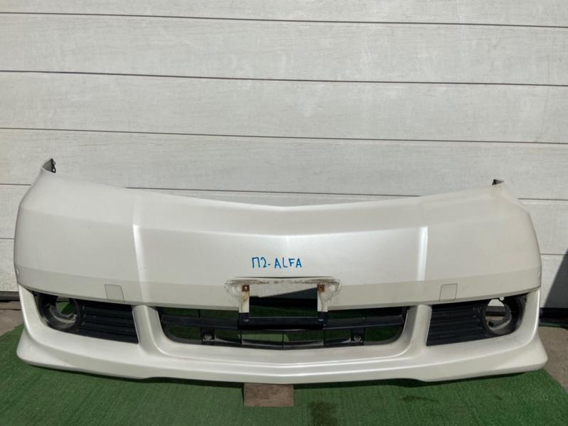 Бампер Toyota Alphard MNH10 передний