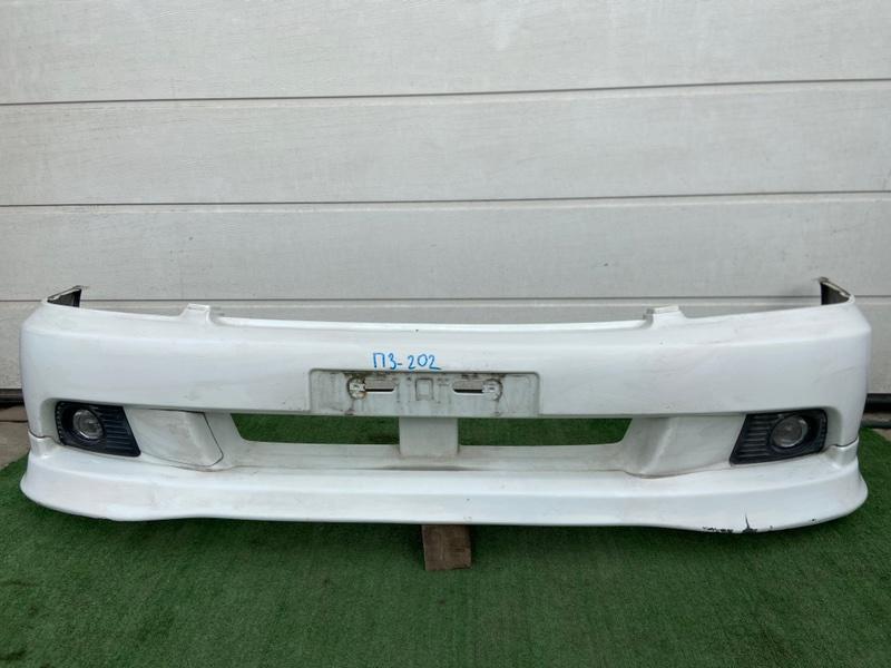 Бампер Subaru Legacy BE5 2001 передний
