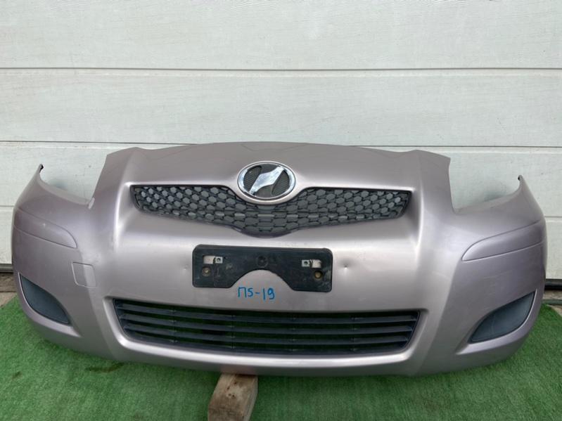 Бампер Toyota Vitz KSP90 передний