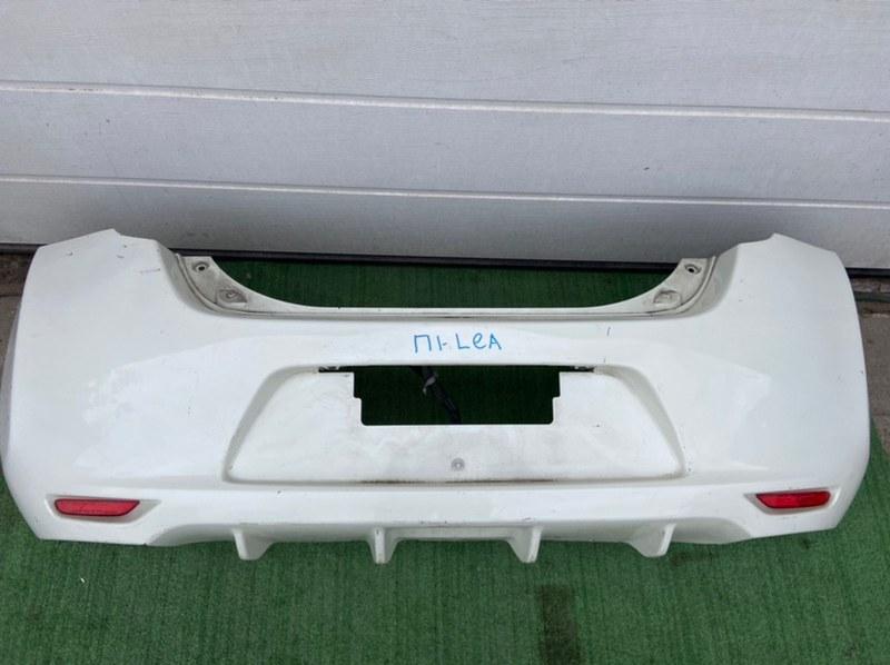 Бампер Nissan Leaf задний