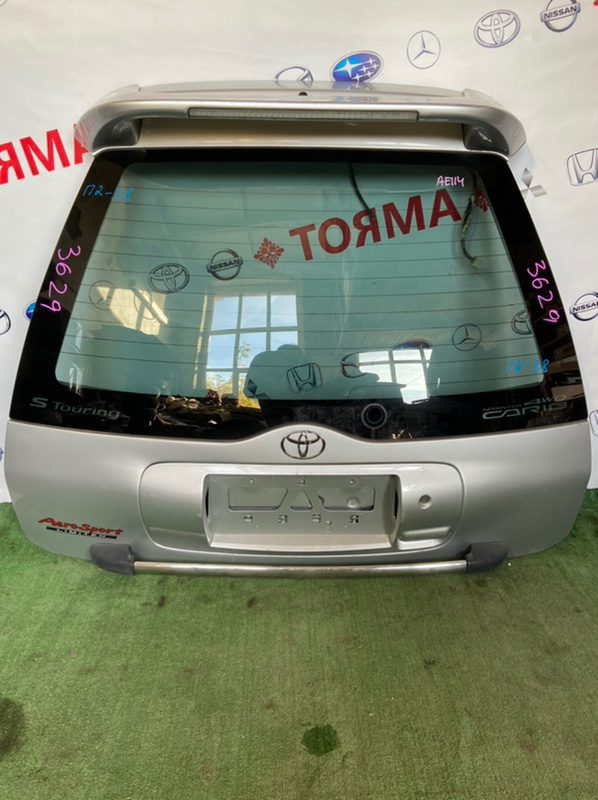 Дверь 5-я Toyota Sprinter Carib AE111