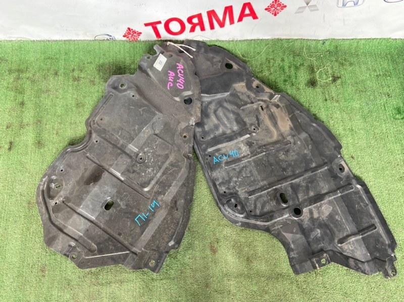 Защита двигателя Toyota Camry ACV40